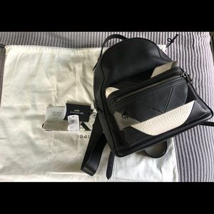 Coach Patchwork Campus Backpack